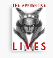 The apprentice lives Canvas Print