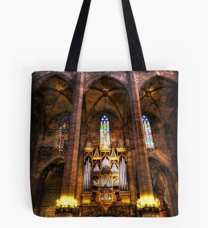 Palma Cathedral Pipe Organ Tote Bag