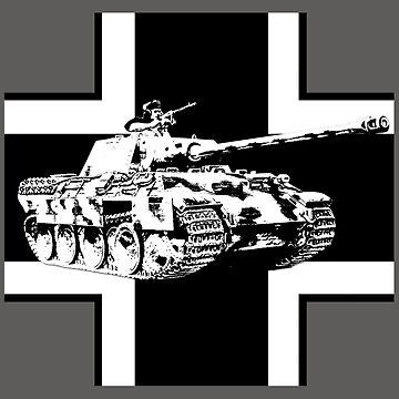 WW2 Panther tank by Sevetheapeman