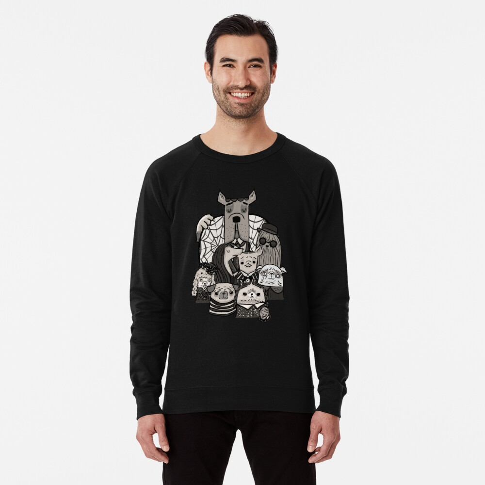 The Addams Family Lightweight Sweatshirt