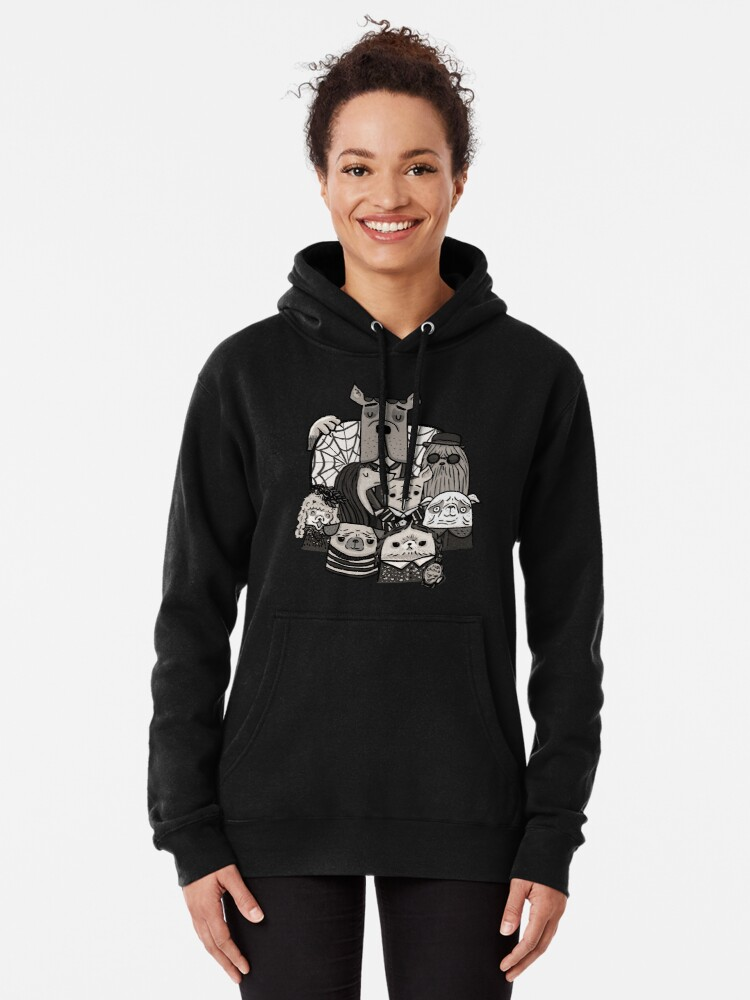 Alternate view of The Addams Family Pullover Hoodie
