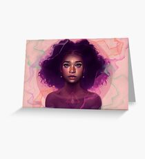 Facets Greeting Card