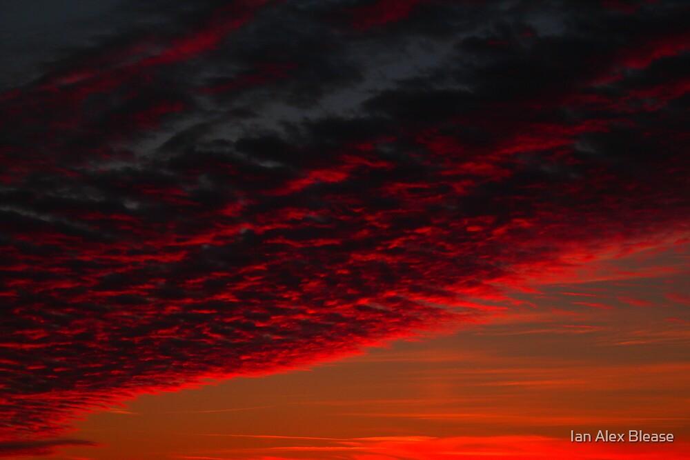 Sunset Colours Darlington,Durham,England by Ian Alex Blease