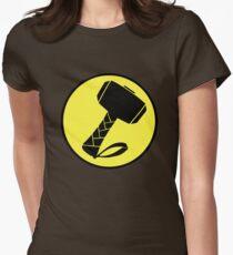 Captain Mjolinir- Everyone's hero! Womens Fitted T-Shirt