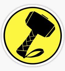 Captain Mjolinir- Everyone's hero! Sticker