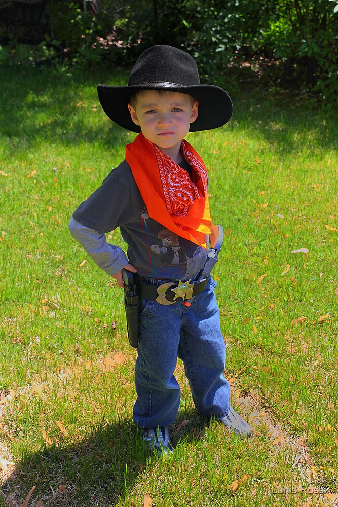 Look Out People There's A New Sheriff In Town by Lanis Rossi