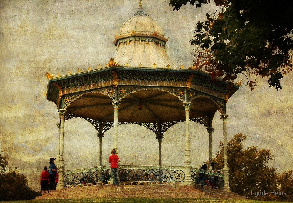 ~ Elder Park Rotunda ~ by Lynda Heins