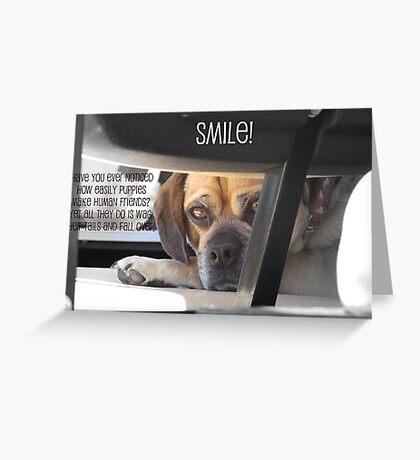 Smile :) Greeting Card