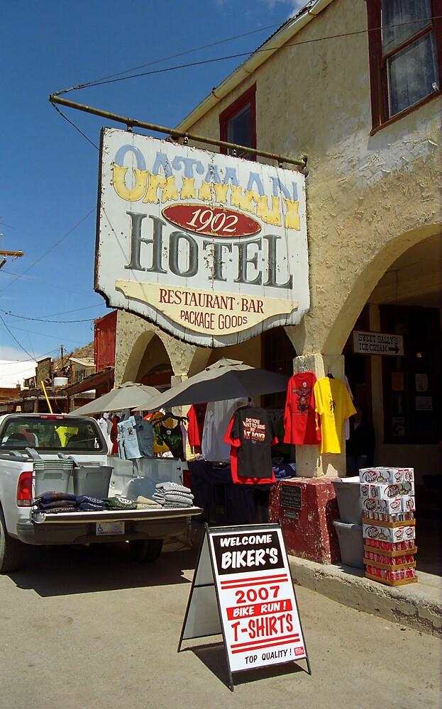 Route 66 - Oatman, Arizona by Frank Romeo