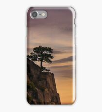 Tree on Cliff iPhone Case/Skin