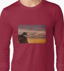 Tree on Cliff Long Sleeve T-Shirt