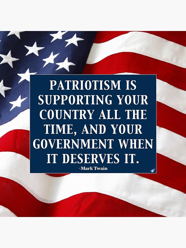 True Patriotism by Mindcite
