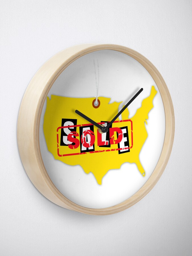 Alternate view of Sold!  Clock