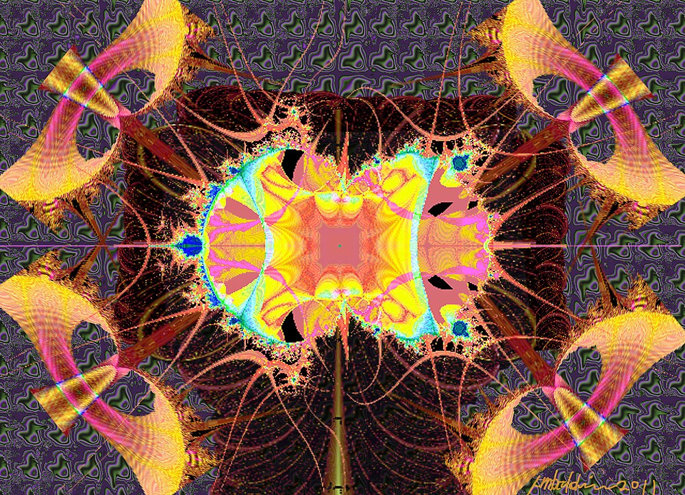 """""""Fractalayers"""" by Patrice Baldwin"""