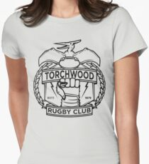 Torchwood Rugby Club Womens Fitted T-Shirt