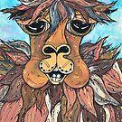 Leroy the Llama by kewzoo