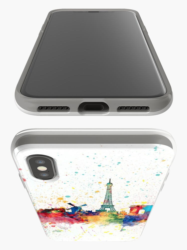 Alternative Ansicht von Paris Frankreich Skyline iPhone-Hülle & Cover