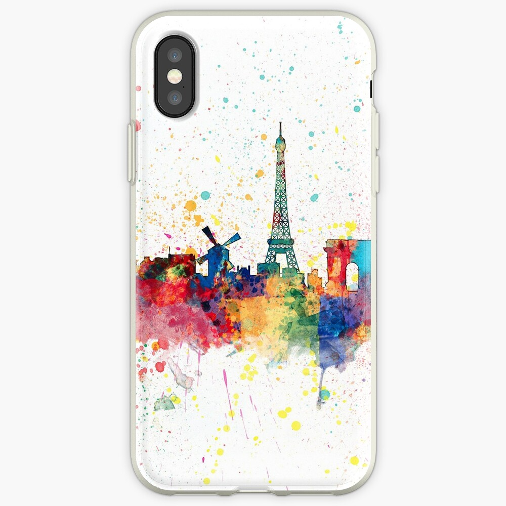 Paris Frankreich Skyline iPhone-Hülle & Cover