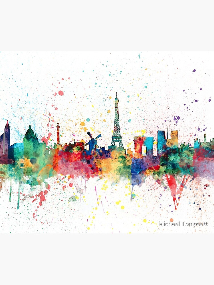 Paris Frankreich Skyline von ArtPrints