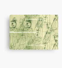 All The Lonely People: Eleanor Rigby Canvas Print