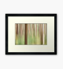 Painting the Forest Framed Print