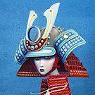 Samurai Mermaid Detail by Graham Bliss