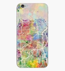 San Francisco City Street Map iPhone Case