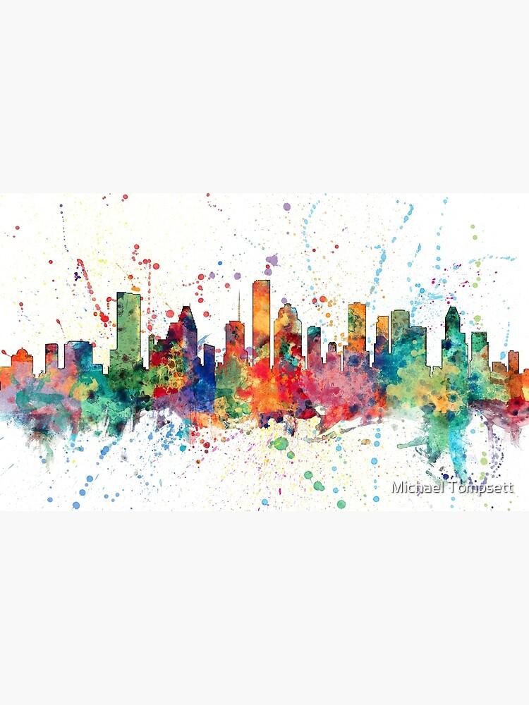 Houston Texas Skyline von ArtPrints