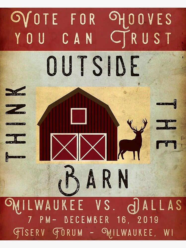 Vote for Hooves You Can Trust: Think Outside the Barn by AJW3-Art