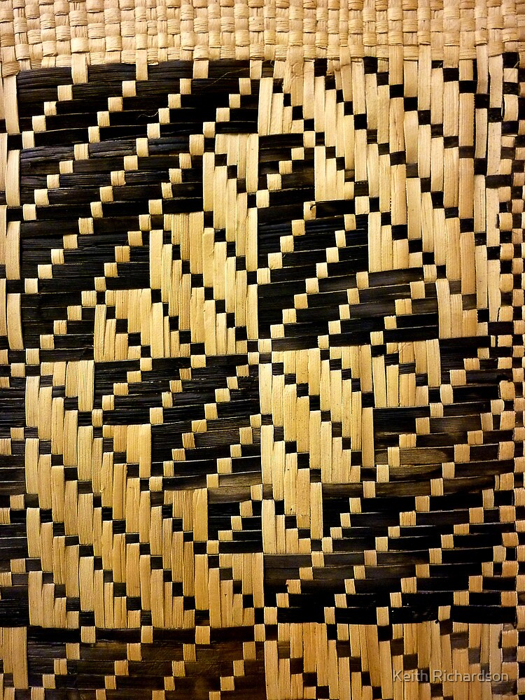 Quot Beautifully Hand Woven Samoan Mat Quot By Keith Richardson Redbubble