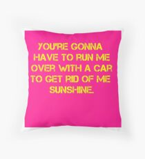 Jon Moxley Sunshine Ambrose Throw Pillow