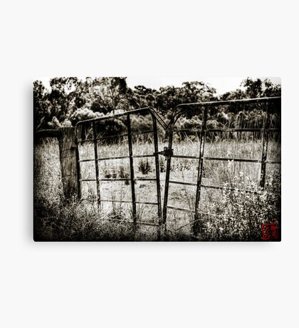 Out of Bounds Canvas Print
