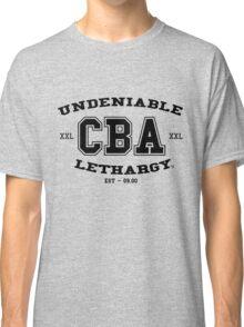 CBA-University (for light shirts & sticker)  Classic T-Shirt