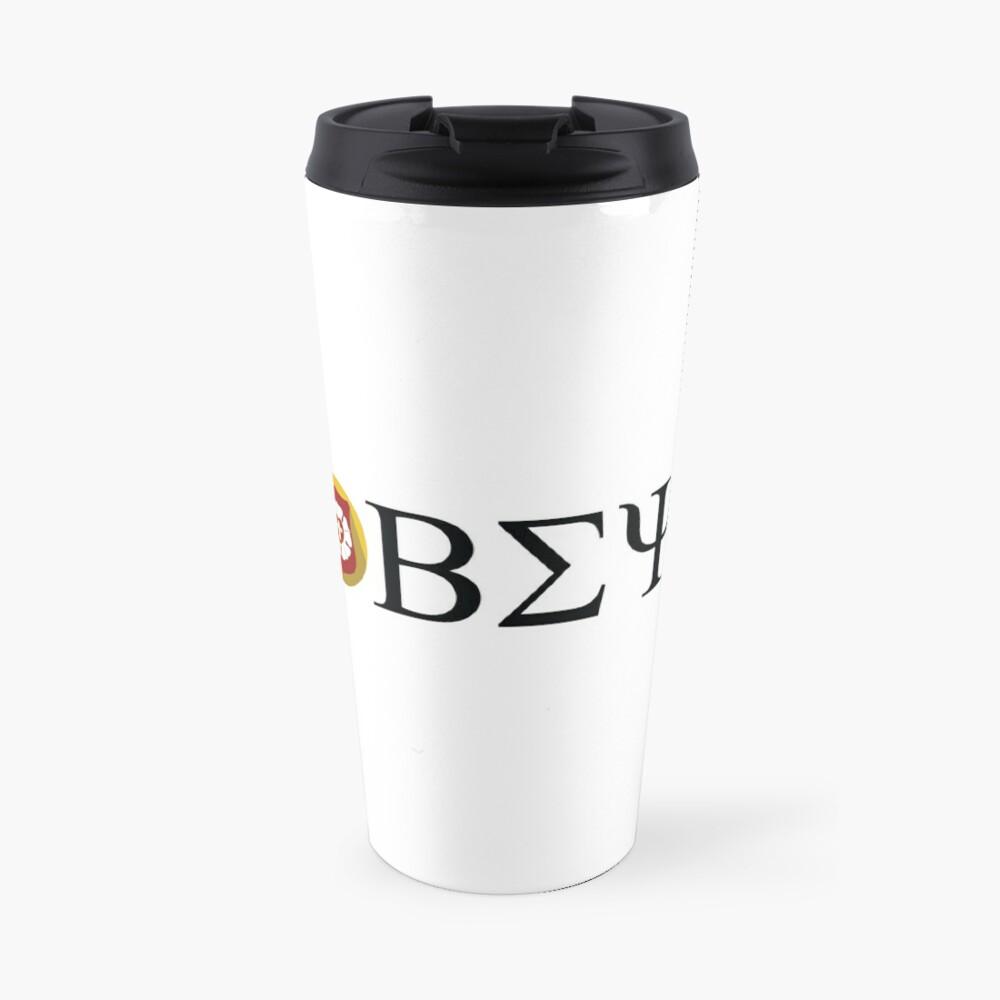 Beta Sigma Psi - badge Travel Mug