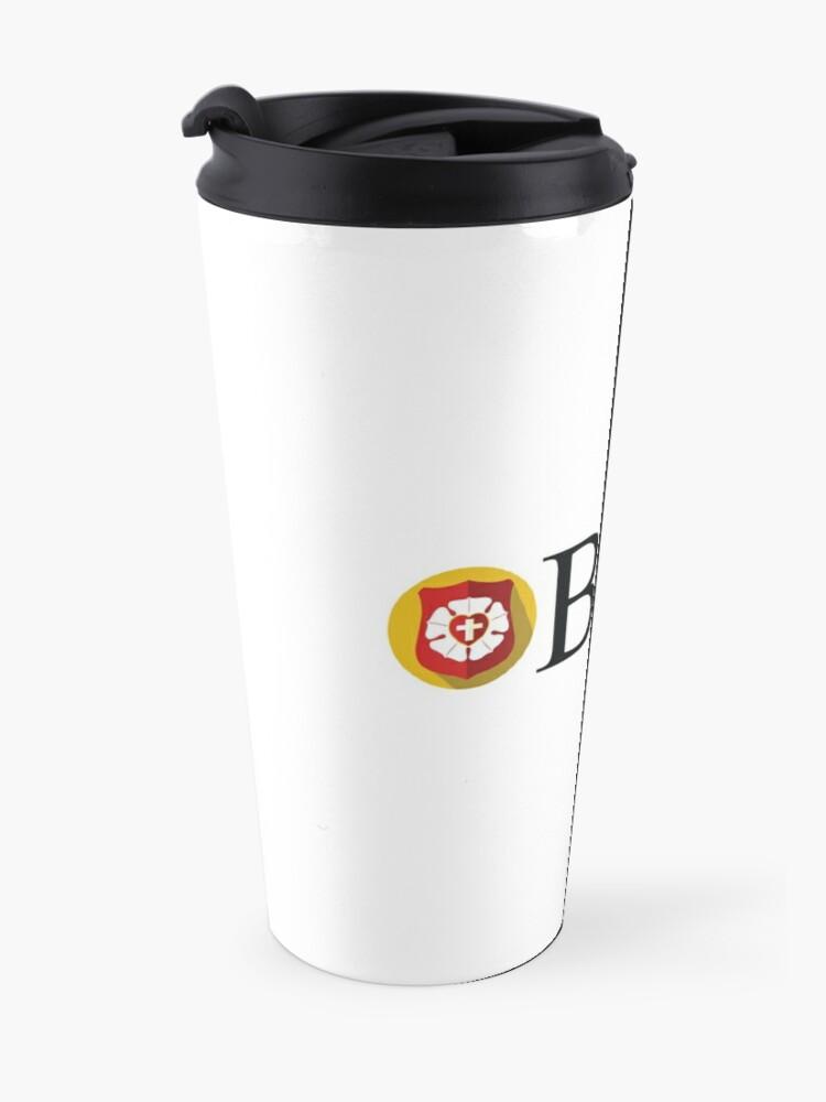 Alternate view of Beta Sigma Psi - badge Travel Mug