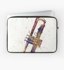 Trumpet Abstract Watercolor Laptop Sleeve