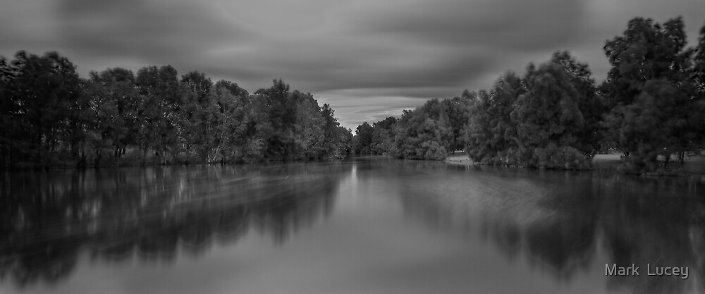 Painted Lake by Mark  Lucey