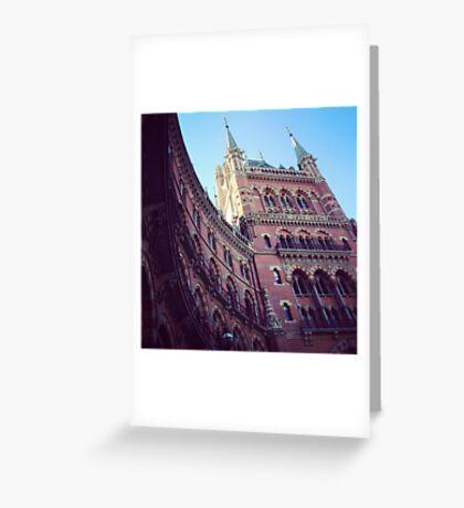St. Pancras Grand Hotel Greeting Card