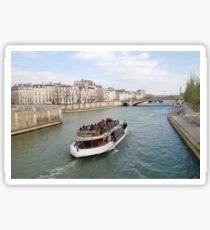 Paris excursion boat, France Sticker
