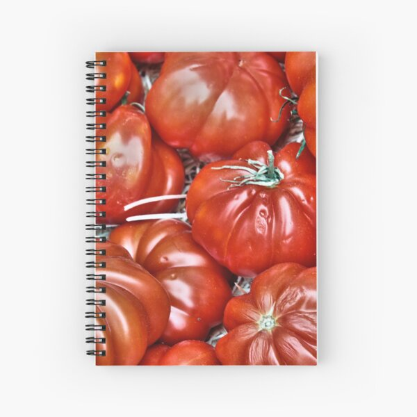 Big Red Tomatoes Spiral Notebook
