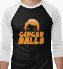 Ginger Balls (Redhead funny) Men's Baseball ¾ T-Shirt