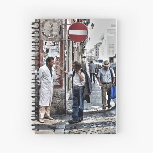 Street Talk, Rome Spiral Notebook
