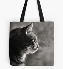 looking out.. Tote Bag