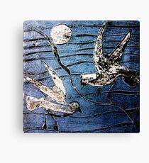 Seagulls 3 Canvas Print