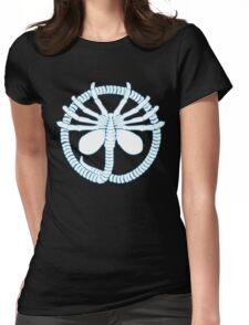 Alien Face Hugger Womens Fitted T-Shirt