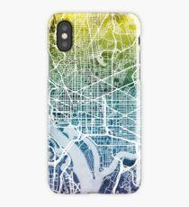 Washington DC Street Map iPhone Case/Skin
