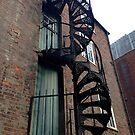 Spiral staircase by Robert Steadman