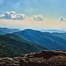 Blue Ridge Mountain - Outlook by glennc70000