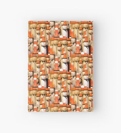 Snowmen iPhone Case Hardcover Journal