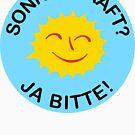 Sonnenkraft? Ja bitte! by glyphobet